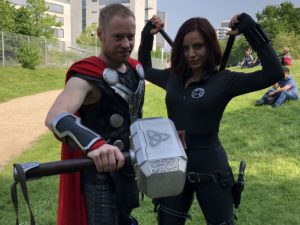 Black Widow und Thor